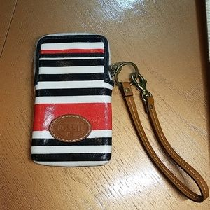 Fossil wallet / phone case